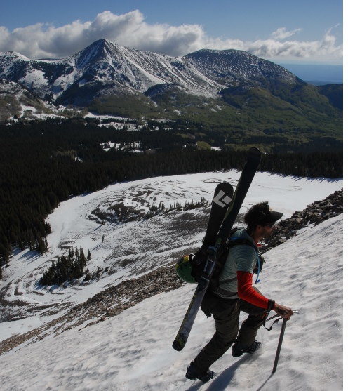 ski-tourer